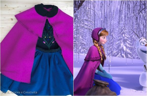 Anna Dress Frozen - In Italian, but with step by steps and can be translated