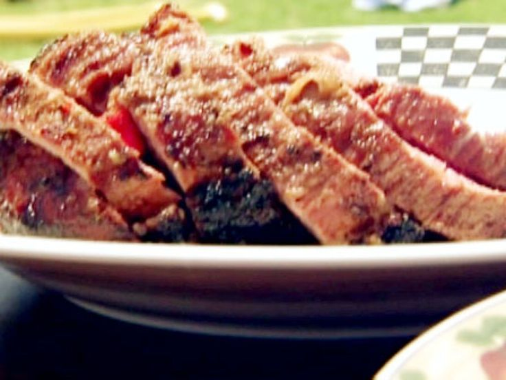 Get this all-star, easy-to-follow Brazilian Slow Roasted Injected Tri-Tip recipe from BBQ with Bobby Flay