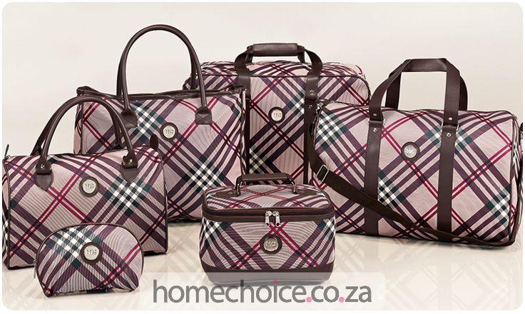 Talia luggage set http://www.homechoice.co.za/Luggage/Talia.aspx