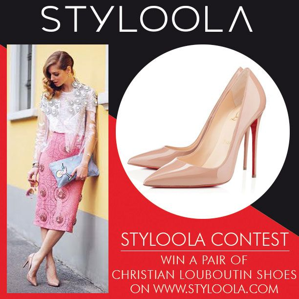 POST YOUR LOUBOUTIN LOOK ON WWW.STYLOOLA.COM