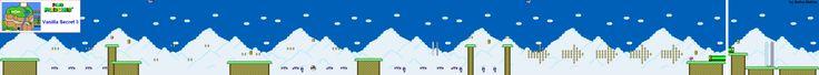 Super Mario World - Vanilla Secret 3