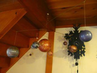 太陽系惑星モビール