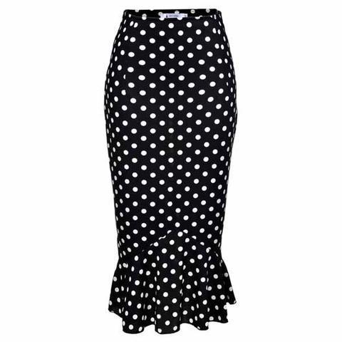 Office Bachelorette Pool Coordinator Skirt - Vintage Skirts - Addy's Dress