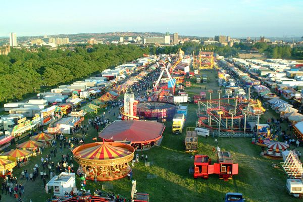 The Hoppings, Town Moor, Newcastle