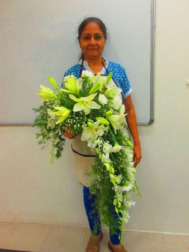 Invented Crescent Bouquets.