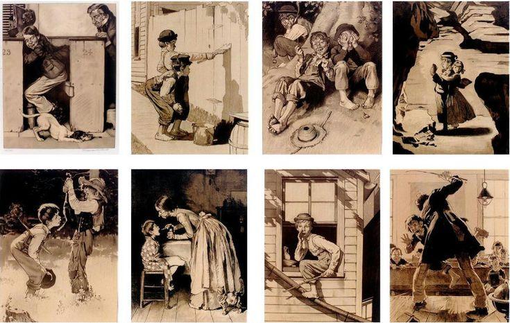 Путешечствие в детство.Норман Роквелл | Norman Rockwell 1894-1978. Обсуждение на LiveInternet - Российский Сервис Онлайн-Дневников