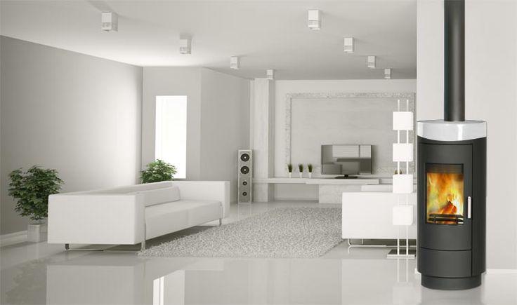 poele a bois rouge in wanders 13 home family room autour d 39 un poele pinterest bois. Black Bedroom Furniture Sets. Home Design Ideas