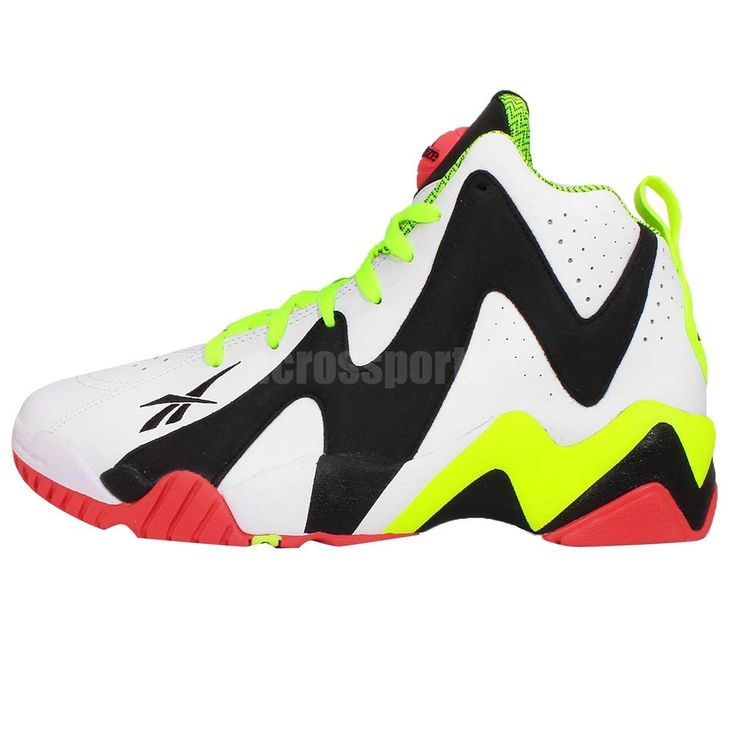 new product 186e9 3509e Reebok Pump Kamikaze II Twilight Zone Shawn Kemp Mens Retro Basketball Shoes  http    ...