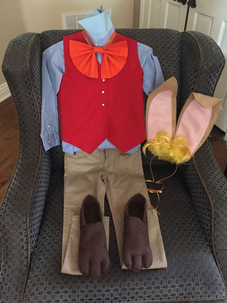 March Hare homemade costume!!!