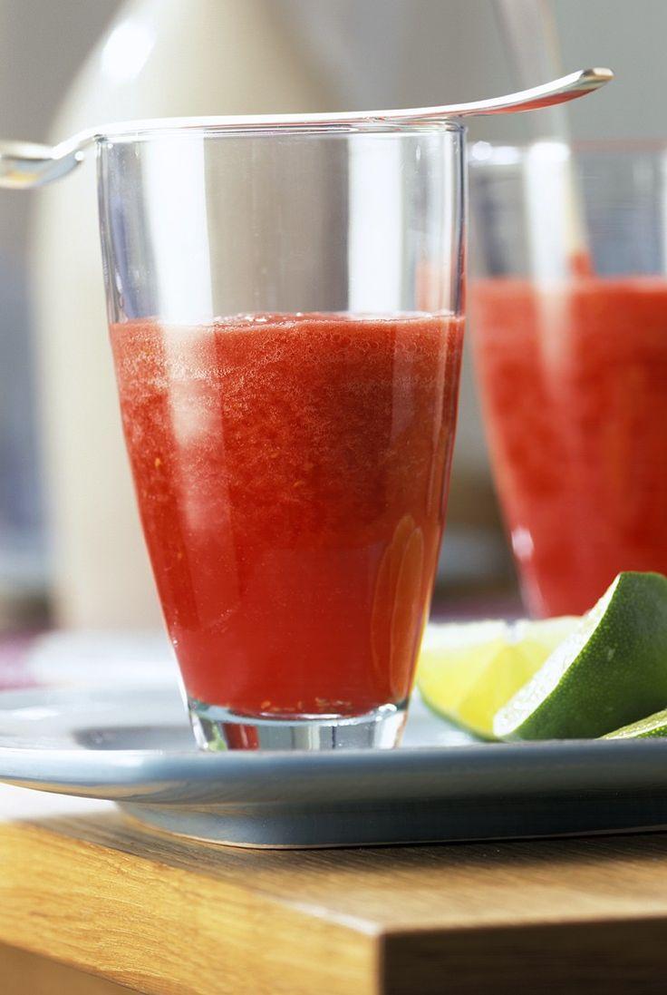 Mmmmhhhmmm... fruchtiger Himbeer-Limes - perfekt für die Sommerparty!