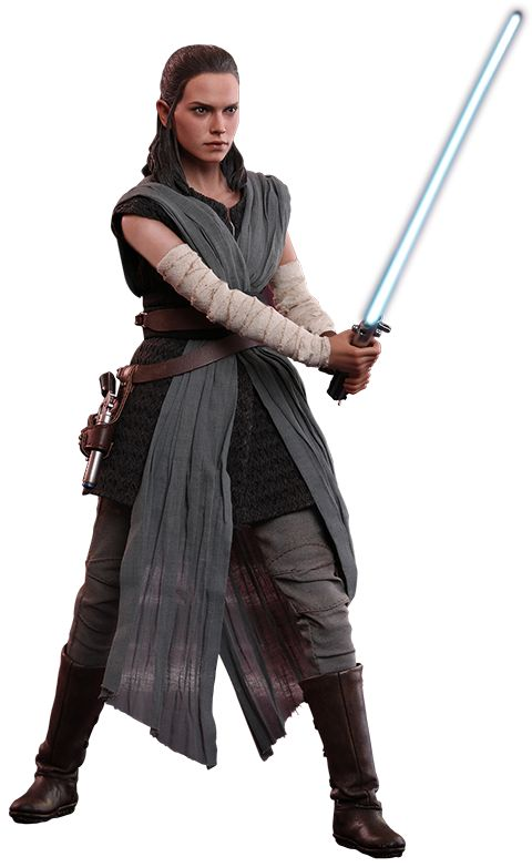 Hot Toys Rey Jedi Training Sixth Scale Figure amazing life like figure by hot toys from sideshow collectibles