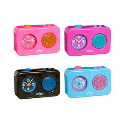 Neon Talking Clock