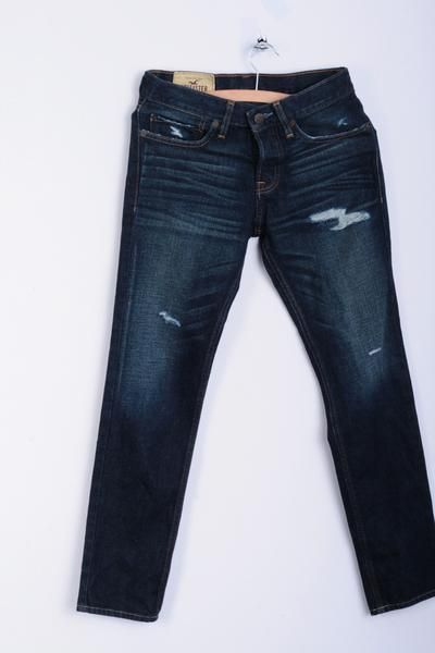 Hollister California Womens W26 L28 Trousers Jeans Skinny Cotton - RetrospectClothes