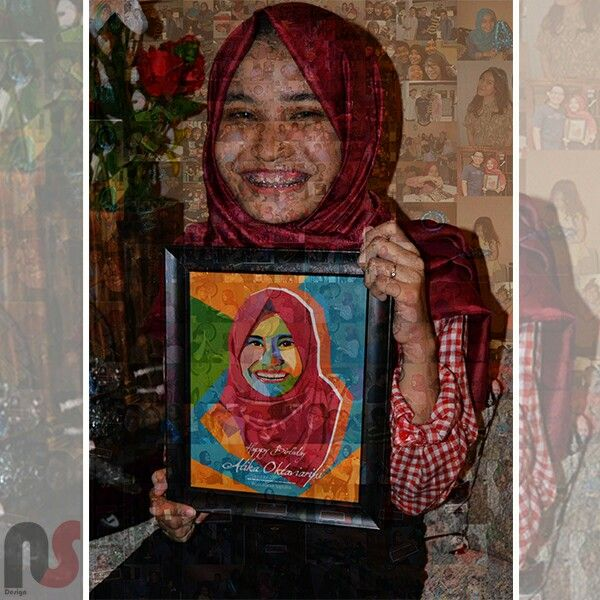 Photo collage (mosaic).. Save your memories..