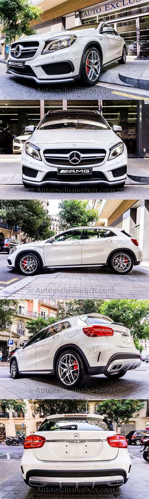 Mercedes GLA 45 AMG | 381 c.v | Blanco | Performance | Auto Exclusive BCN | #MercedesBenz #MercedesAMG #Cars #Coches #GLA45 #AutoExclusiveBCN #Concesionario #4x4 #PerformanceAMG | http://autoexclusivebcn.com