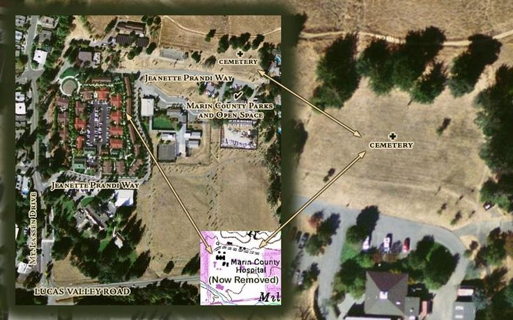 Marin County Hospital Cemetery, location