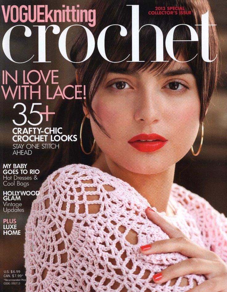 Vogue Knitting 2013 有漂亮钩编长裙 - 紫苏 - 紫苏的博客