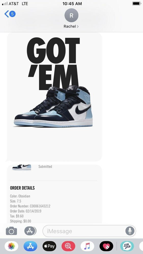 cf116e28abe989 Nike Air Jordan 1 Retro High OG Blue Chill UNC Sz 7.5 Womens - Nike Airs