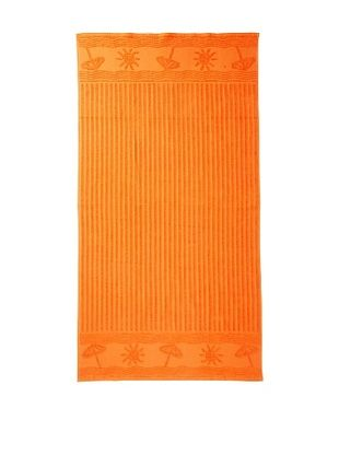 50% OFF Esplama Sun/Umbrella Beach Towel, Orange