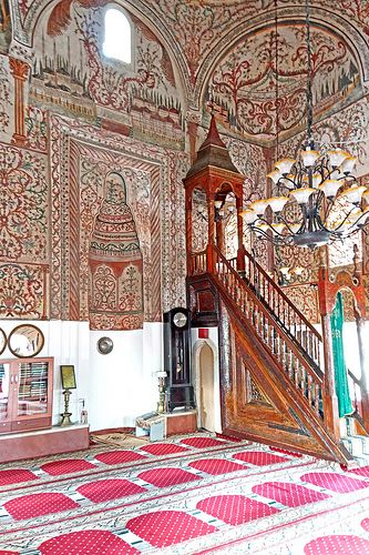 Around the World in 80 Days | www.TwoPinkHouses.com - Et'hem Bey Mosque, Albania