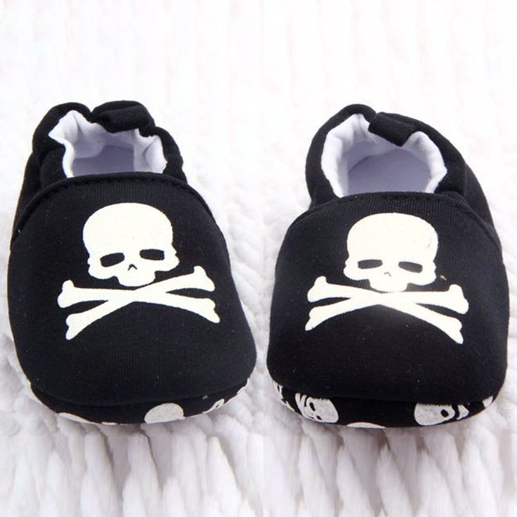 >> Click to Buy << Summer Autumn Infant First Walkers Toddler Baby Skull Pirate Printed Casual Shoes Soft Bottom Girl Boys Shoes New Sales #Affiliate