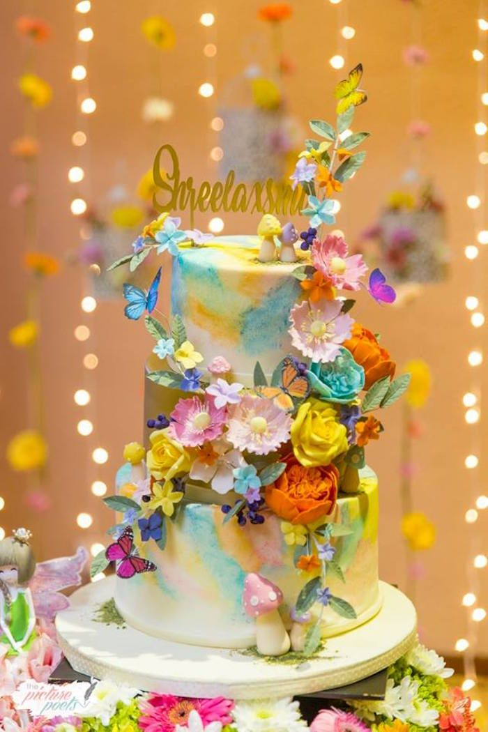 Enchanted Fairy Garden Party Fairy Birthday Party Ideas
