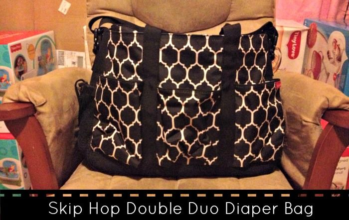 Skip Hop Double Duo Diaper Bag Review - Must have for Twins!
