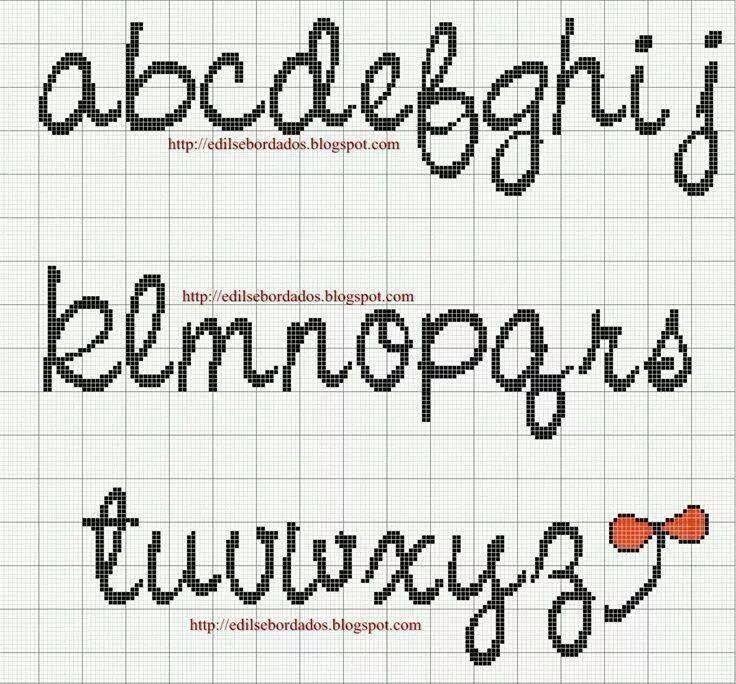 Alfabeto - Alphabet a-z