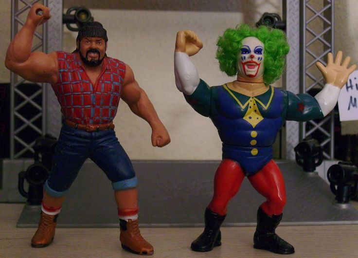 the Late MATT BORNE, aka Big Josh, and Doink the Clown