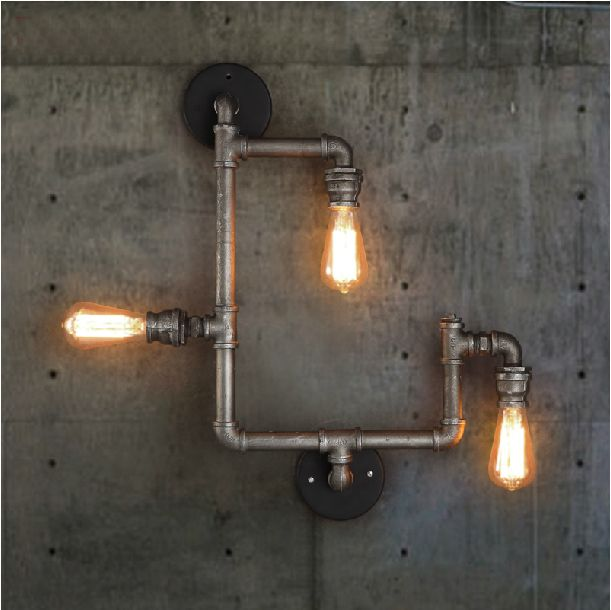 Decorative Wall Lamps China : 125 best images about Retro Loft Wall Lamps on Pinterest Industrial, Wrought iron and Iron wall