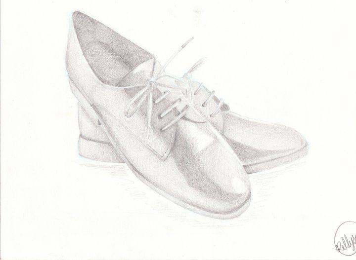 sapatos p estudo sombreado