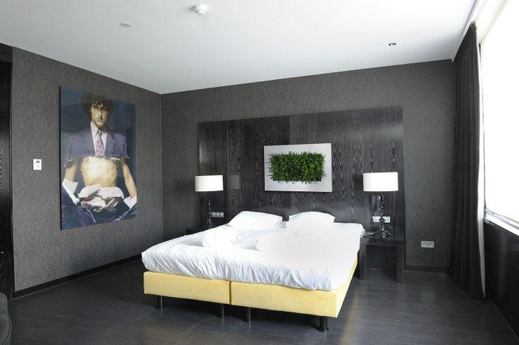 Hotel Rooms - see more at http://officelandscapes.co.uk/blog/live-picture-living-plant-art-for-birmingham-restaurant/