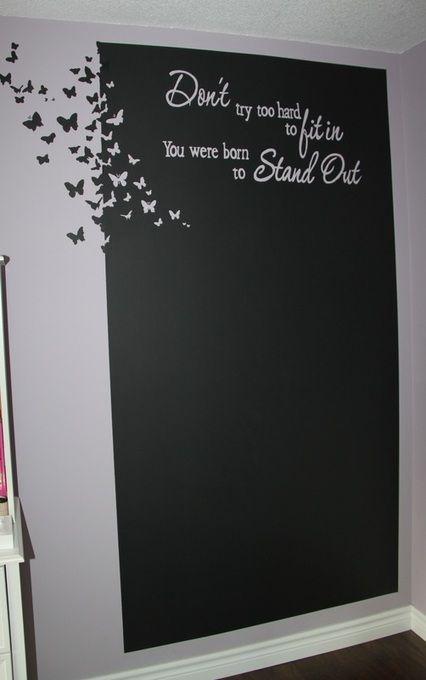 Best 25+ Chalkboard wall art ideas only on Pinterest ...