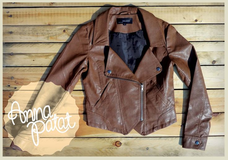 Synthetic leather jacket www.annapatat.someammo.com
