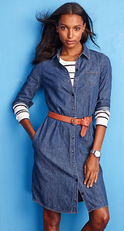 The Denim Edit via Lands' End - landsend.com