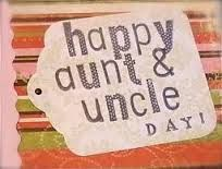 July 26 National Aunt & Uncle Day