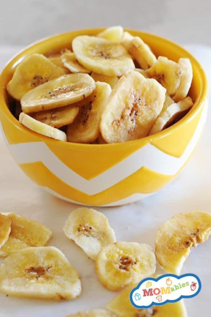 Baked Banana Chips Recipe Banana Chips Recipe Banana Chips Baked Banana Chips