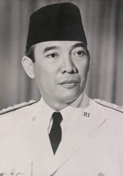Soekarno  was the First President of  Indonesia