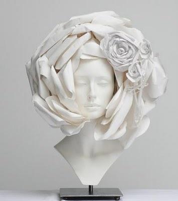 Chanel haute couture headpiece