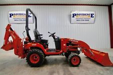 2016 KUBOTA BX25DLB 4WD DIESEL LOADER TRACTOR / BACKHOE HST ONLY 93 HRS!backhoe loader financing apply now www.bncfin.com/apply