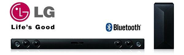 ¡Chollo! Barra de sonido LG LAC553B de 200W con Subwoofer y Bluetooth por 106.34 euros.