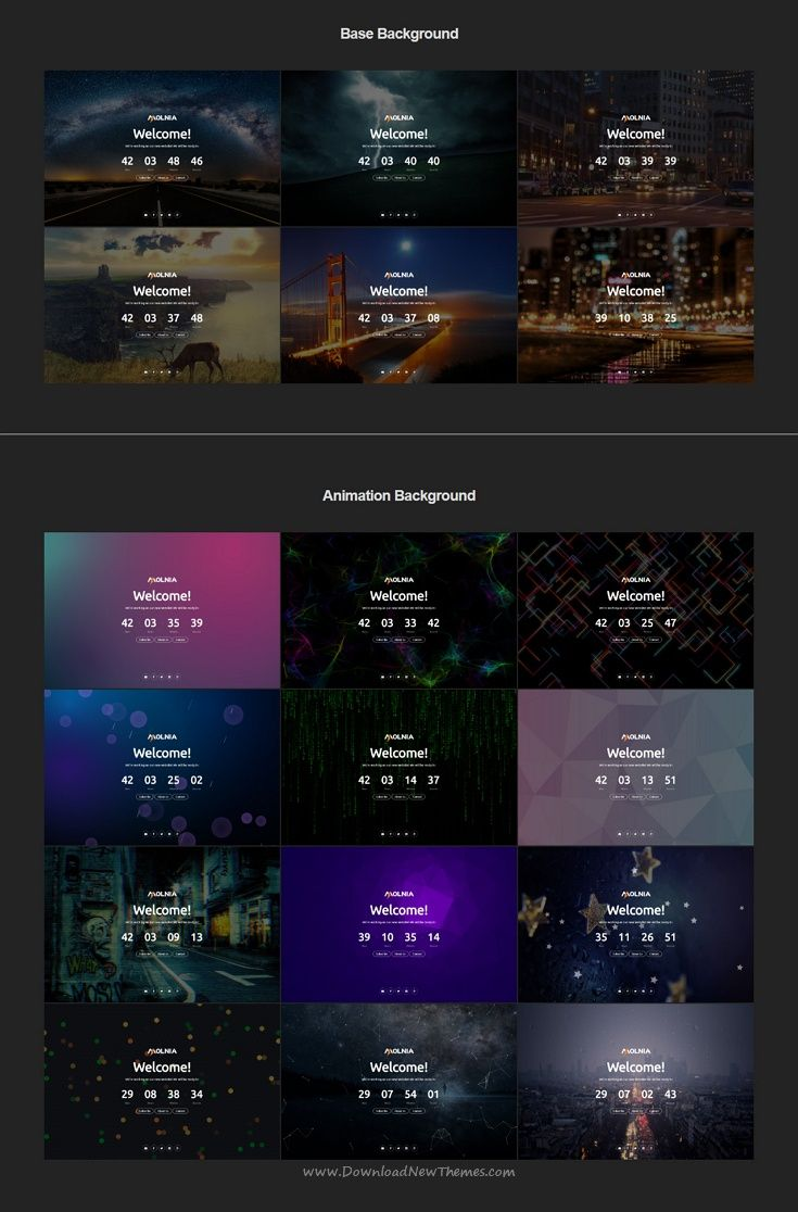 Molnia is a wonderful #HTML bootstrap template for #comingsoon / under construction webstie with countdown timer, subscription, mail form, gallery, social icons and beautiful effects download now➩ https://themeforest.net/item/molnia-coming-soon-html-template/19852347?ref=Datasata
