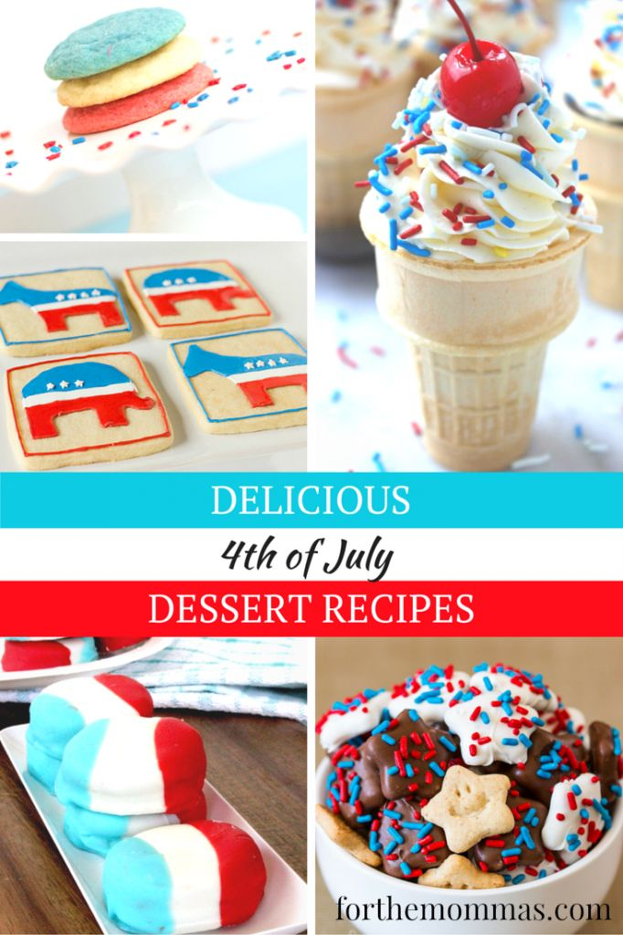 fun july 4th dessert recipes