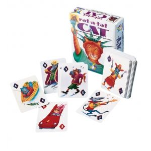 As children play Rat-a-tat Cat, they develop a sense of timing and an understanding of basic, but essential, mathematical concepts. They learn ways to remember their cards and strategies to figure out what cards other players might have. They also begin to develop an intuitive sense of probability. Rat-a-tat Cat requires skill, strategy, and awareness, challenging both young children and adults #maths #probability