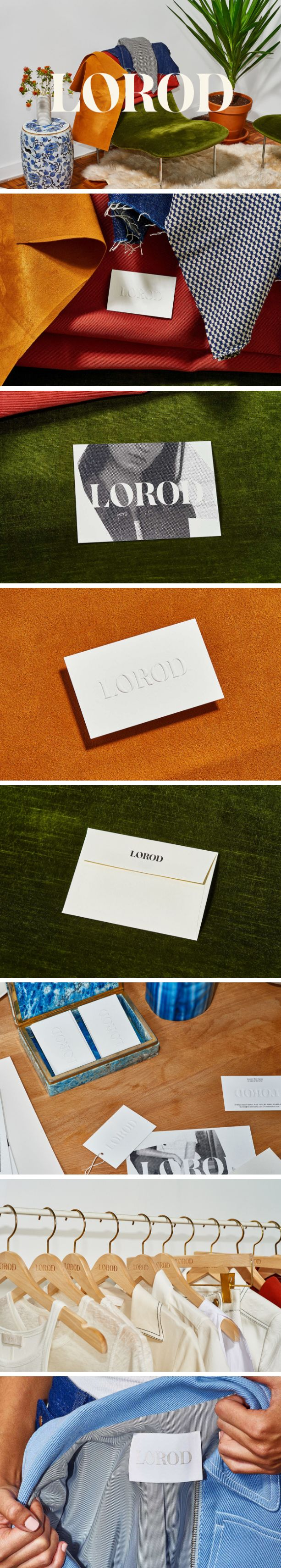 Brand Identity & Web Design for LOROD by Pentagram