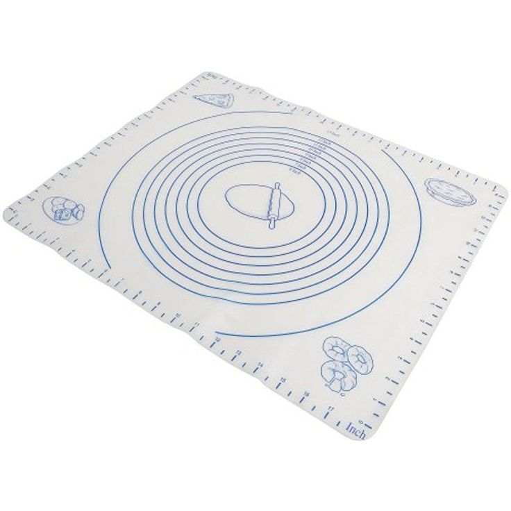 Norpro Pastry Mat Silicone Baking Sheet Liner W/ Measuring Pie Crust Dough #Norpro