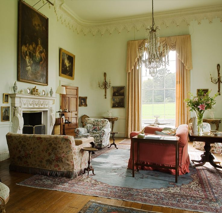 51 best irish country house decor images on pinterest - Country homes and interiors pinterest ...