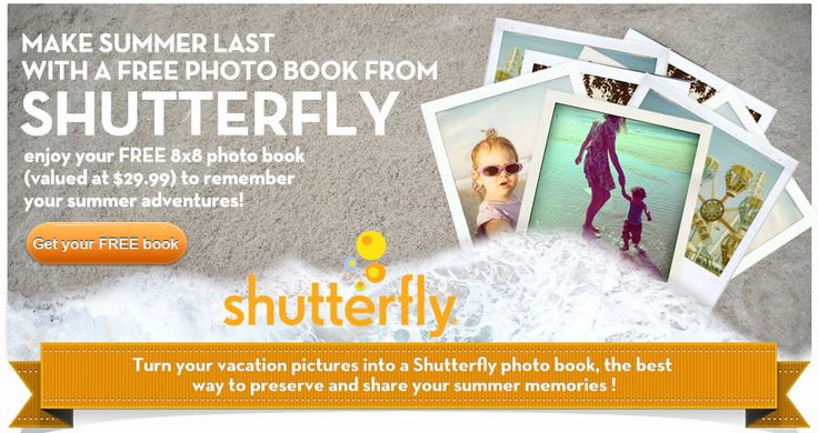 Create a FREE photo book with Shutterfly.