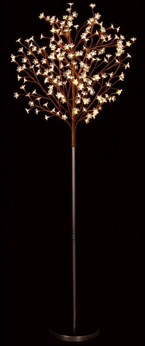 LED blossom light tree // magical warm white lighting effect #lightingdesign