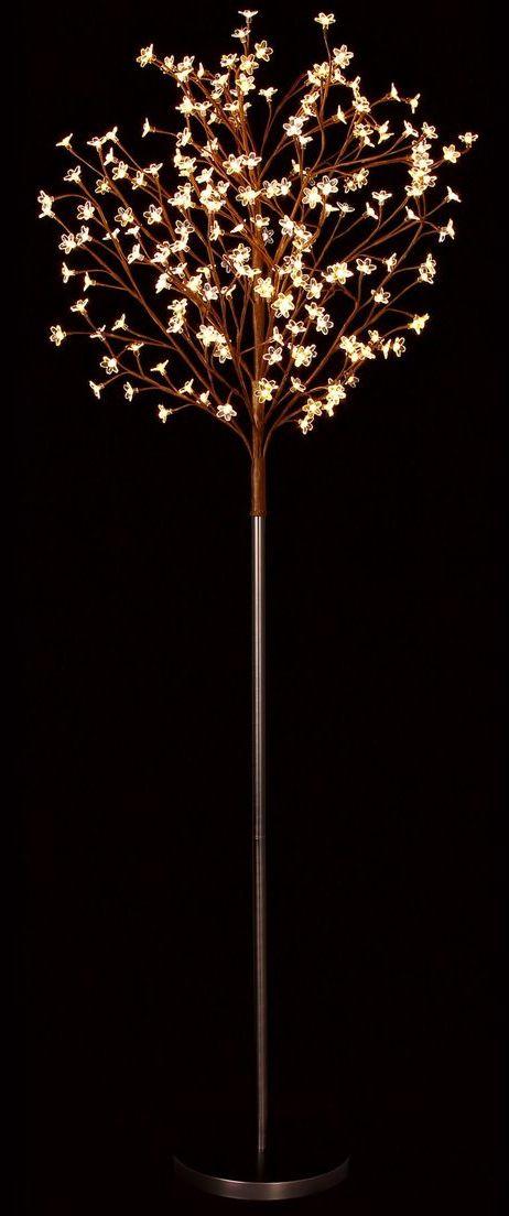 LED blossom light tree // magical warm white lighting effect #lightingdesign